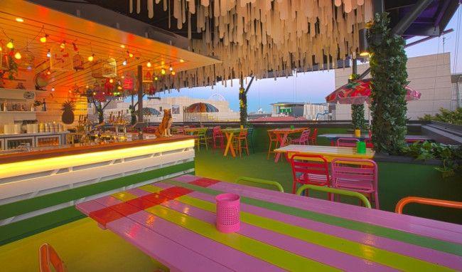 The Fox Hotel rooftop bar
