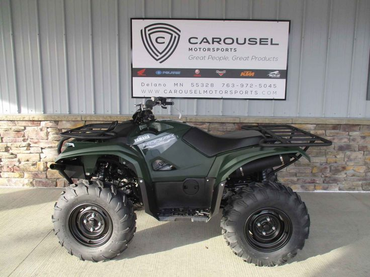New 2016 Yamaha Kodiak™ 700 ATVs For Sale in Minnesota. GET THIS ALL NEW 2016 YAMAHA KODIAK NOW ON SALE FOR $ 6,195.00 AT CAROUSEL MOTORSPORTS IN DELANO. MSRP on this ATV is $ 6,999.00 + $ 375.00 transportation charges. . The all new Yamaha Kodiak 700 has all the bare essentials covered! Built for the Real World, The 2016 Kodiak™ 700 has an all-new 708cc, 4-valve, fuel-injected engine with optimized torque, power delivery and engine character—ideal for smooth, quiet operation all day long…