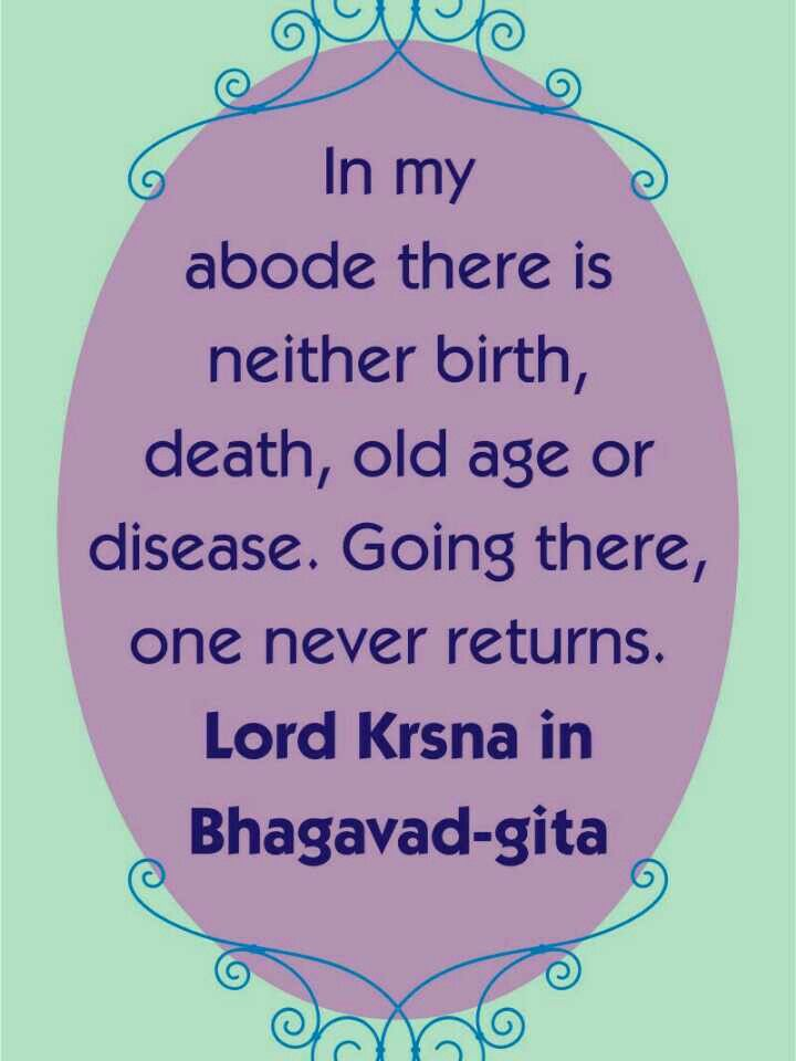 teaching of the bhagavad gita The teaching of finding joy and satisfaction in one's self alone and being detached of everything that's connected with what does the bhagavad gita teach.