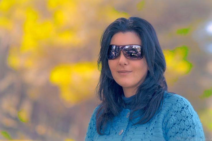 Desafiando al Frio - Un retrato para Facebook
