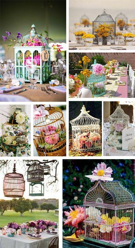 M s de 25 ideas incre bles sobre jaulas vintage en - Comprar decoracion vintage ...