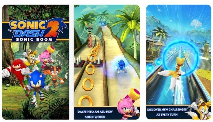 AppsUser: Sonic Dash 2, la segunda parte de famoso juego de SEGA