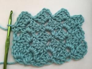 Crochet Stitches And How To Do Them : How to Crochet Shell Stitch: How to Crochet Crazy Shell Stitch