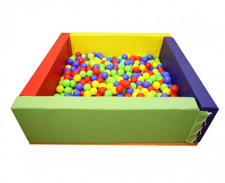 Büyük Boy Sünger Top Havuzu,Ay-Go, Top Havuzları (Softplay),Ay Geliştirici Oyuncaklar - Anaokulu Donanımları, Anaokulu Mobilyaları
