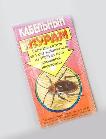 Тиурам от тараканов