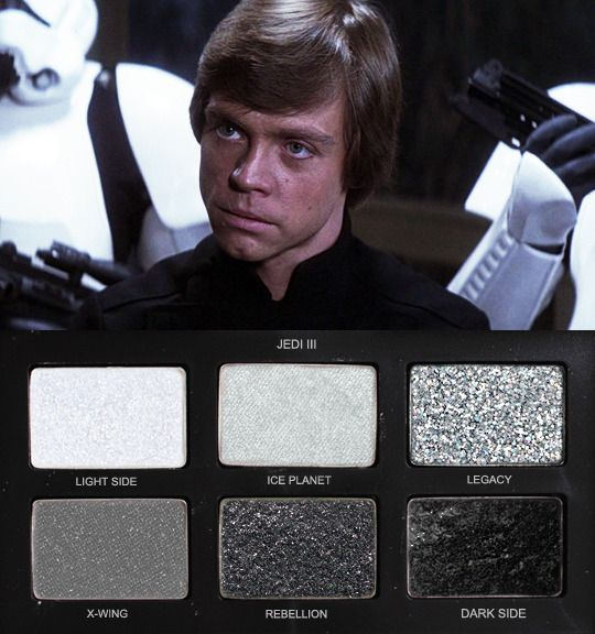 Star Wars Eyeshadow Palette Jedi Iii Project Makeup Morgue