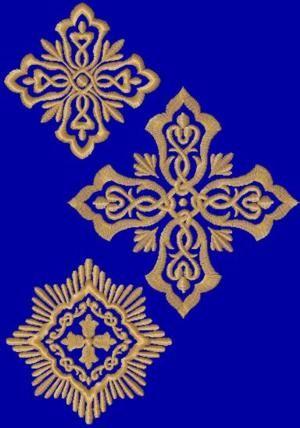 Advanced Embroidery Designs - Cross Embellishment Set