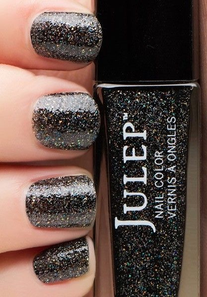 Midnight mani  | See more at http://www.nailsss.com/colorful-nail-designs/2/