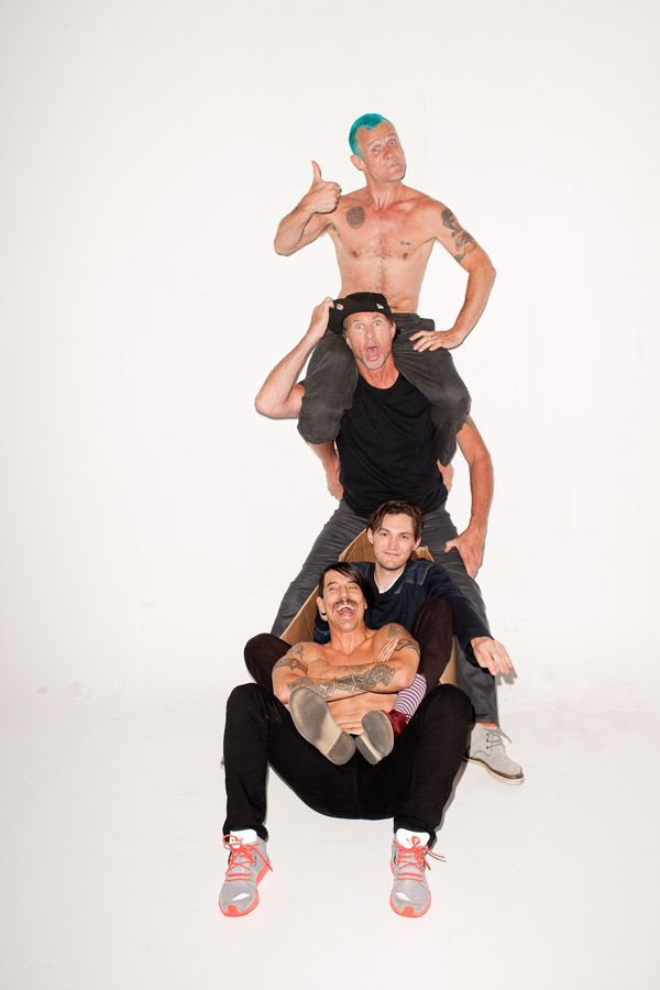 Red Hot Chili Peppers at my studio #2