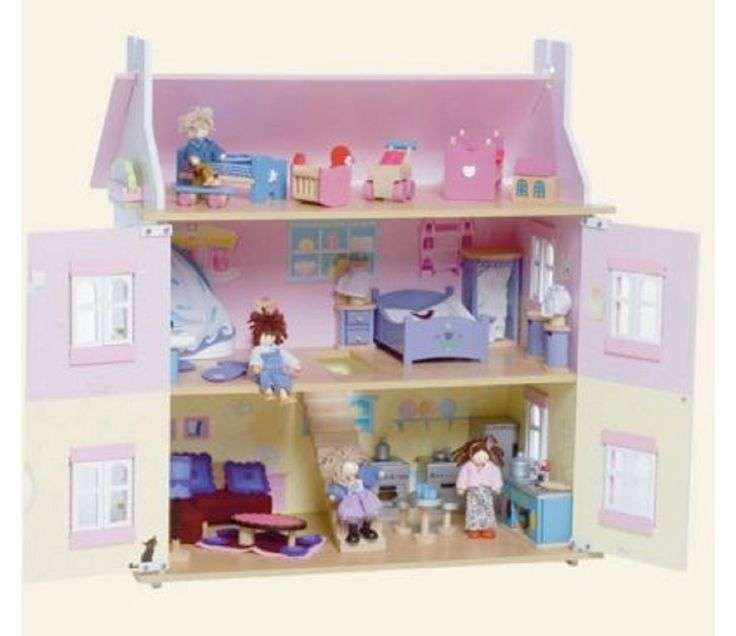 Dukkehus, lavendel fra Sprell. Om denne nettbutikken: http://nettbutikknytt.no/sprell-no/
