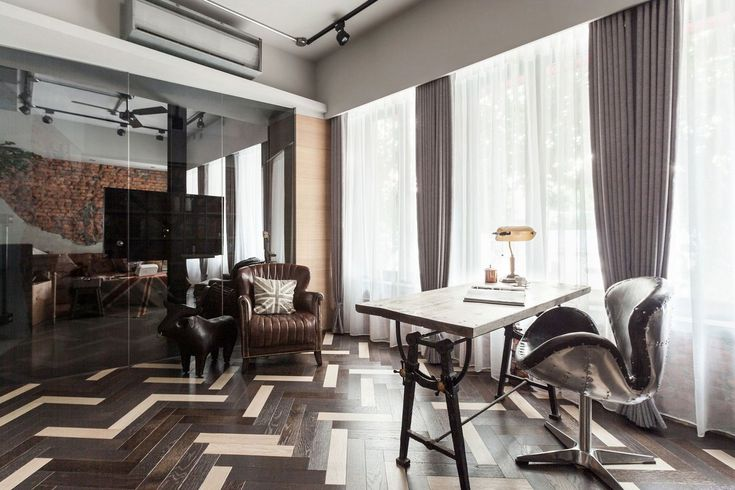 Apartment Refurbishment, CHI-TORCH Interior Design, готический интерьер квартиры, индустриальный стиль интерьера, готические предметы интерьера фото