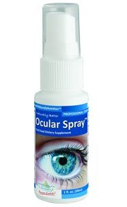 Research suggests that these nutrients can help to improve sight and prevent vision loss due to Glaucoma. Ocular Spray™ For Eye Health Support #Glaucoma
