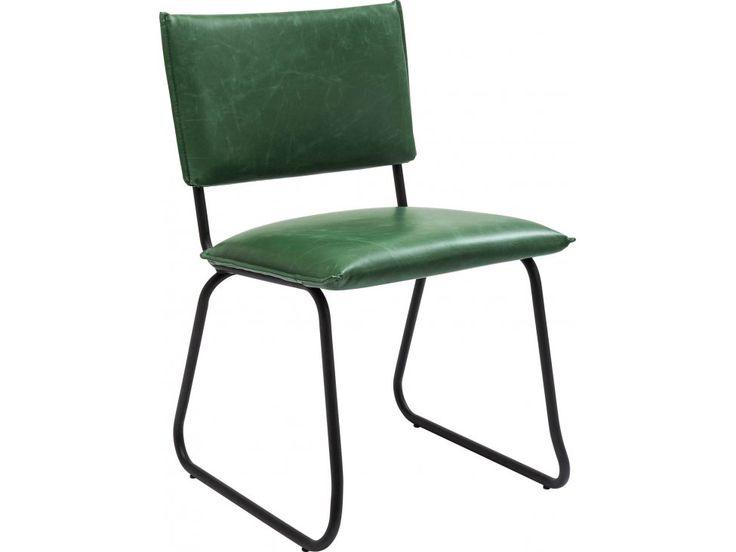 Krzesło Duran zielone — Krzesła Kare Design — sfmeble.pl