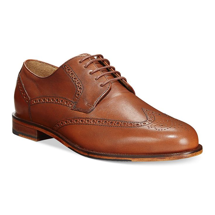 http://bit.ly/1LLoFU4 Cole Haan Carter Grand Wingtip Oxfords from