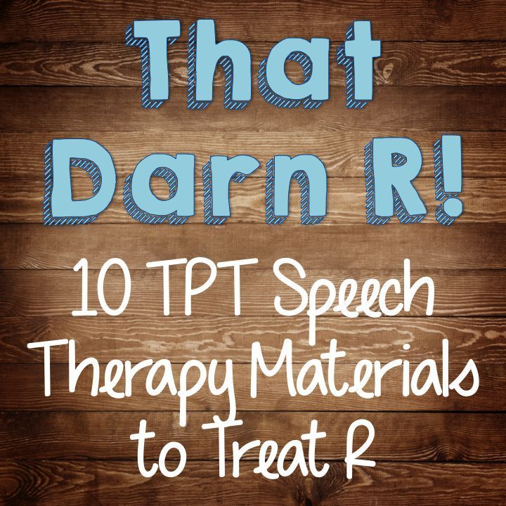 The Dabbling Speechie: That Darn R! 10 TpT Speech Therapy Materials to Treat R.