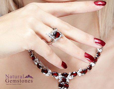 #Red is the color of #Love,# Ruby is the #King of #Gem who will bring your #Queen the #Eternity in #Love