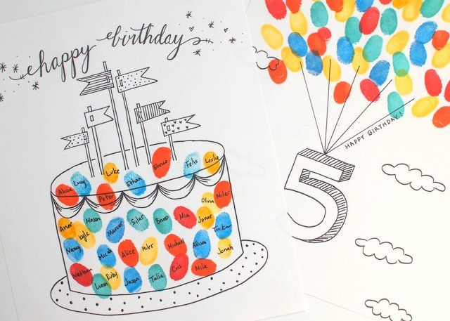 birthday card free printable