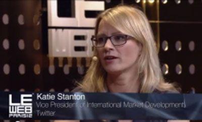 Twitter'ın Yüzde 60′ı Dinliyor, Yüzde 40′ı Tweetliyor! [LeWeb Paris] - Twitter'ın Uluslararası Pazar Geliştirme Başkan Yardımcısı Katie Stanton, LeWeb Paris'te The Next Web İngiltere'nin editörlerinden Jamillah Knowles'ın sorularını yanıtladı(...)