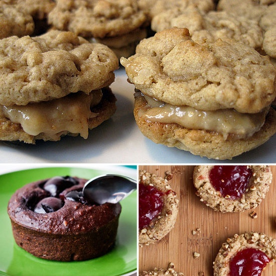 Recipes For Baked Goods Under 200 Calories Per Serving: Desserts Recipe, Oatmeal Cookies, Sandwiches Cookies, 200 Calories, Peanut Butter Oatmeal, Oatmeal Sandwiches, Healthy Peanut, Healthy Desserts, Healthy Treats