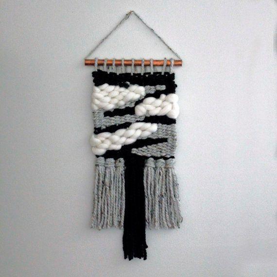 Moderne de Weaving, tissée Tenture murale, décor neutre