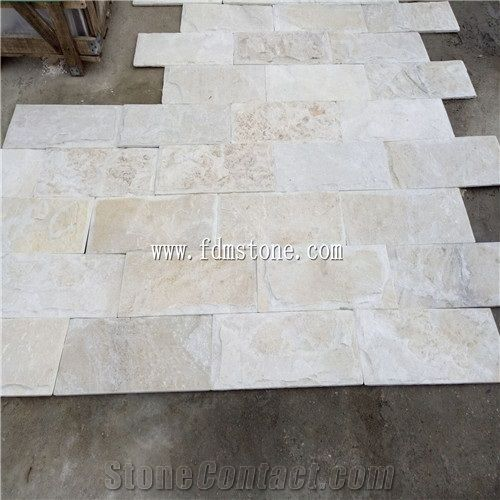 Crystal White Quartzite Mushroom Wall Cladding,Snow White Quartzite ,Natural White Quartzite Mushroom 3d Panel Wall - Xiamen Freedom Stone Co.,Ltd