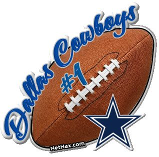 Dallas Cowboys..even though I'm from Washington, DC. I'm a die hard Dallas fan, and PROUD!