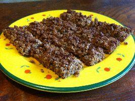Hier vind je een uberheerlijk recept voor Flapjacks (havermoutrepen), een voedselzandloper snack.