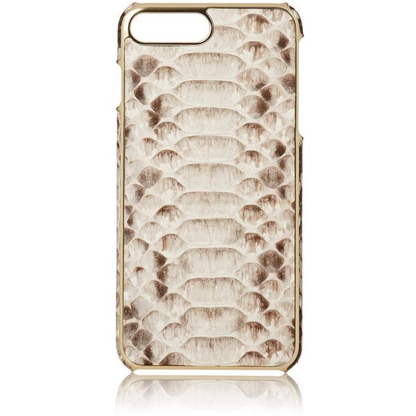 Barneys New York Men's Python iPhone® 7 Plus Case (880 ILS) ❤ liked on Polyvore featuring men's fashion, men's accessories, men's tech accessories and nude