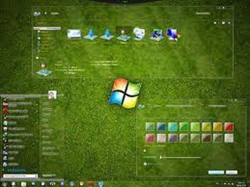 Epic Glass theme for windows download free Windows Visual Styles Windowblinds Miscellaneous