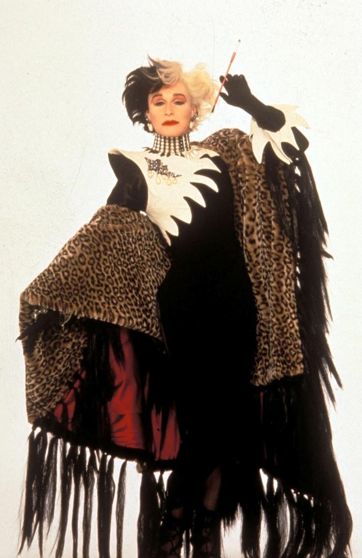 Cruella De Vil in 101 Dalmations -- Costume Designer Anthony Powell