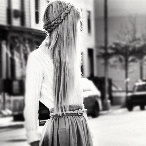 Crown braid- I LOVE THIS SO MUCH!