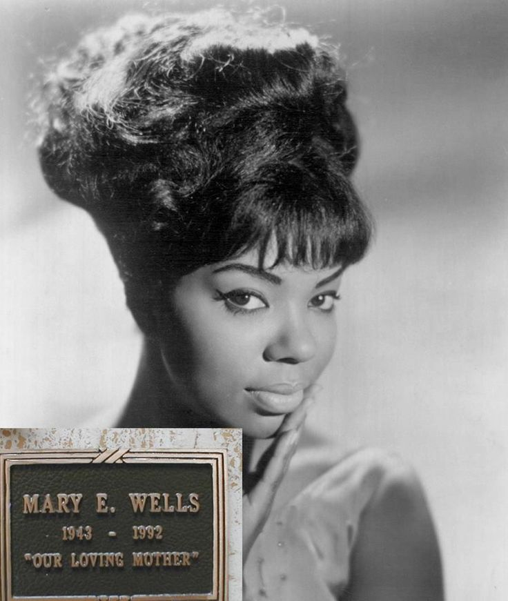 Mary Esther Wells (May 13, 1943 – July 26, 1992) was a singer who helped to define the emerging sound of Motown in the early 1960s. Along with the Supremes, the Miracles, the Temptations, and the Four Tops,