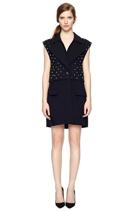 Silk Cady Long Vest by Givenchy - Moda Operandi
