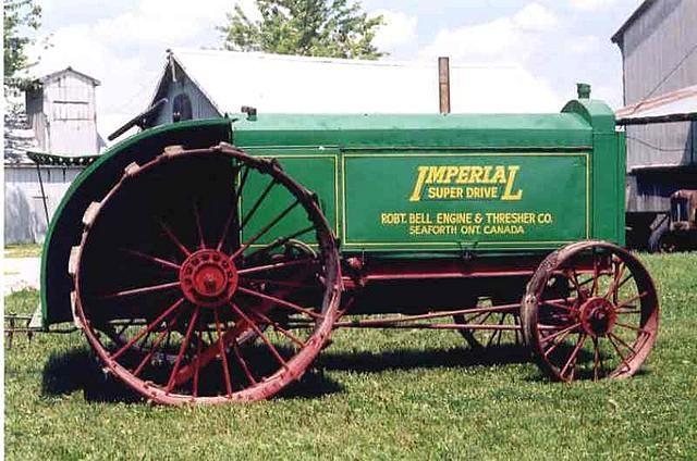 Imperial Super-Drive Tractor =====>Information=====> https://www.pinterest.com/arthurshetler/tractors-construction-and-implement-equipment/