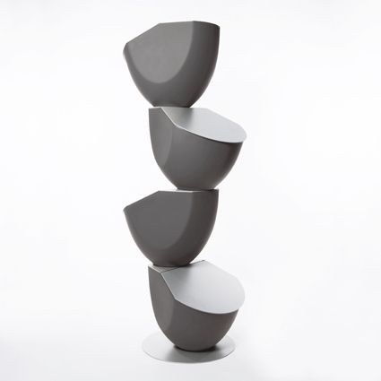 #Dark #Grey #Ecovo #Ronda #Design #storage #unit