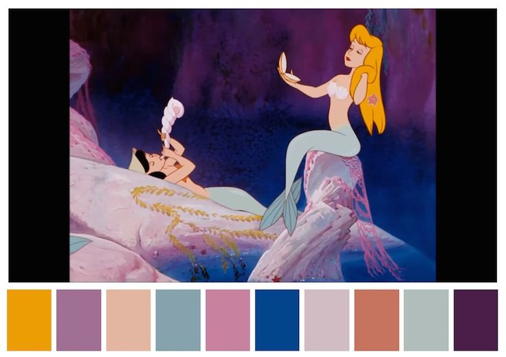 Cinema Palettes: Color palettes from famous movies - Peter Pan