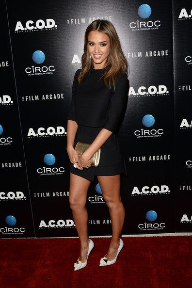 Jessica Alba Photos Photos - Actress Jessica Alba attends the premiere of The Film Arcade's 'A.C.O.D.' at the Landmark Theater on September 26, 2013 in Los Angeles, California. - 'A.C.O.D.' Premieres in LA