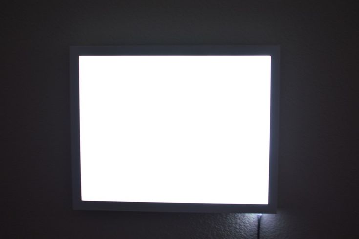 DIY LED LIGHT PANEL, AFFORDABLE AND SAVES SPACE