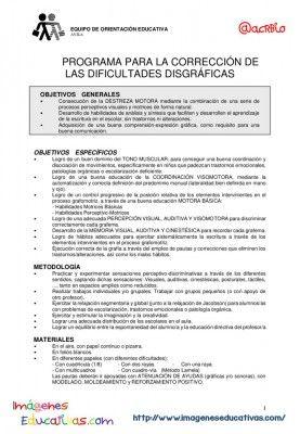 Programa para trabajar la disgrafía (1)