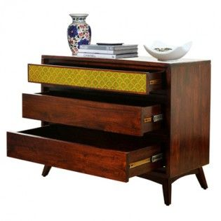 Apical Chest of Drawers (Walnut Finish)
