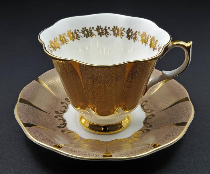 - Queen Anne Tea Cup & Saucer (English Bone China