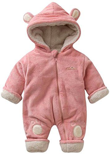 02a073985 The perfect UNIQUEONE Toddler Boys Girls Cartoon Bear Hooded Romper Zipper  Fleece Thick Warm Snowsuit Outerwear. [$24.98 - 34.98] nanaclothing from  top ...