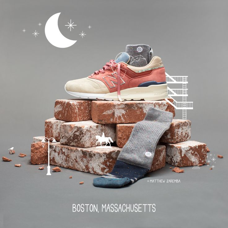 """New Balance x Stance 997 and 1978 """"Art of the Kit"""" Girly"""