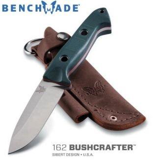 Benchmade 162 Bushcrafter Siebert Design