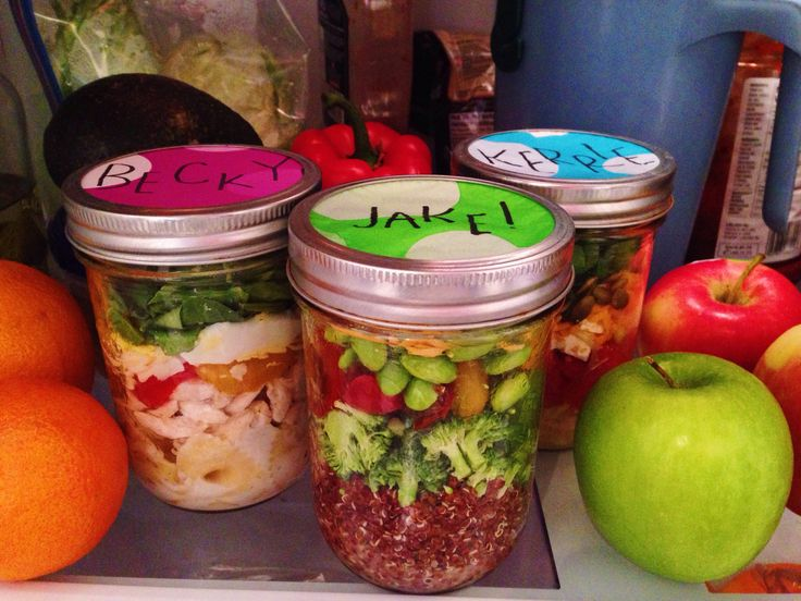 Mason Jar Meals for Kids