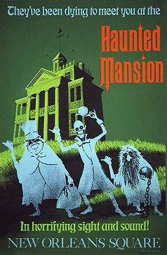 Disneyland, as I remember it. My dad helped build the Haunted Mansion. It is still a special treat to ride it.