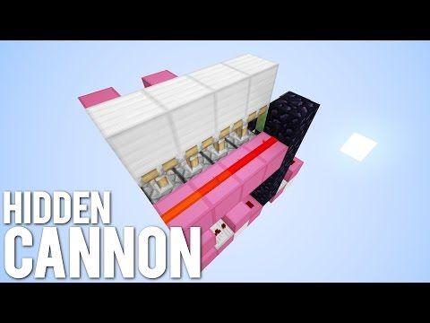 Minecraft: The Hidden TNT Cannon! [Secret Weapon!] - YouTube
