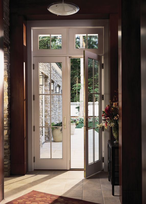 13 best french doors images on pinterest entrance doors for Transom windows exterior
