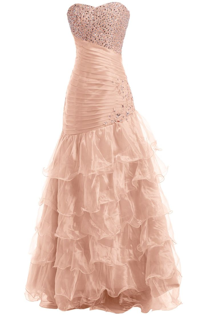 Cocomelody a line v neck long beaded evening dress bmmc0009 gown