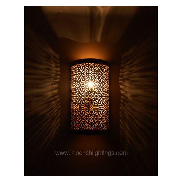 moroccan outdoor lighting. Brass Wall Lights, Moroccan Bathroom, Modern Moroccan, Bathroom Lighting, Light Walls, Outdoor Sconces, Bright Walls Lighting